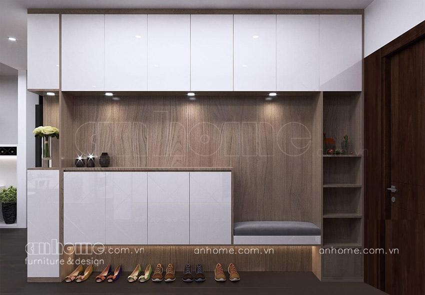 Thiết kế tủ giày nhà đẹp